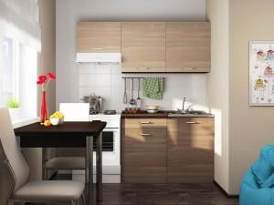 Кухня ЛДСП 1