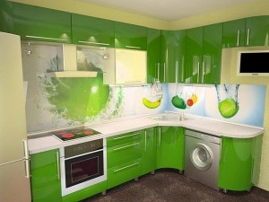 Кухня пластик 18